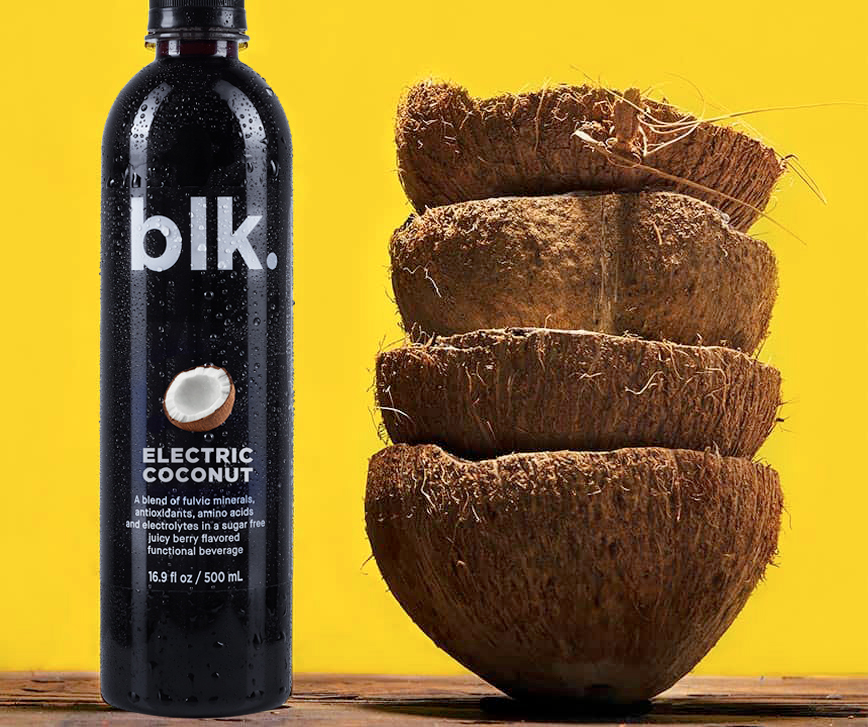 blk. Electric Coconut 12 Pack